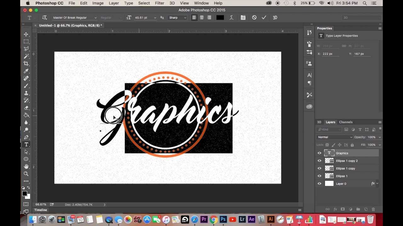 How To Create a Simple Logo in Photoshop CS6