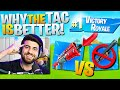 Why I ALWAYS Choose The TAC Over The PUMP in Chapter 2! (Fortnite Educational Commentary)