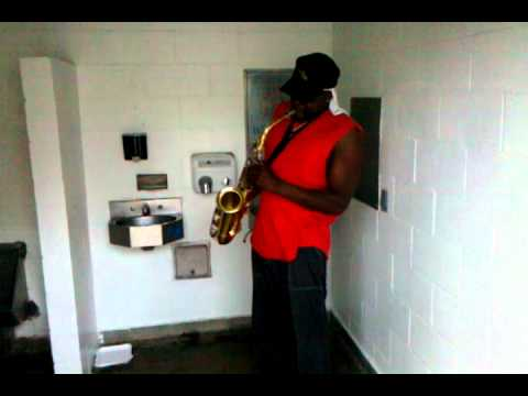 Bathroom Sax.3gp video