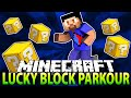 Minecraft LUCKY BLOCK PARKOUR RACE #1 with The Pack (Minecraft Lucky Block Mod)