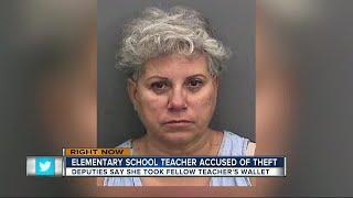 Deputies: Teacher stole credit card from another teacher at recess