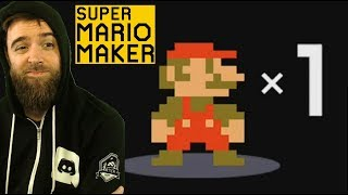 100 Mario Expert Challenge, But You Start with 1 Life [SUPER MARIO MAKER]