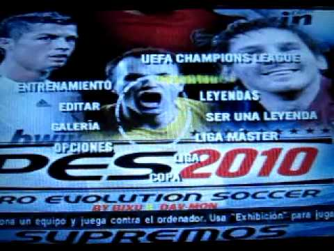 """new """"pes 2010 new champions v2"""" for psp + penalty,released march 2010"""