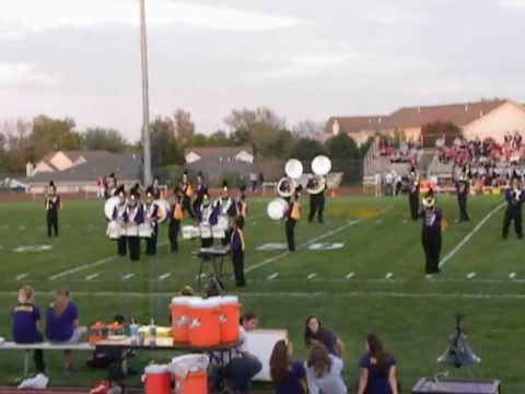 Spring Hill High School Marching Band Broncos 09/28/2012