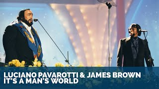 Luciano Pavarotti Video - Luciano Pavarotti & James Brown - It's a man's world (1080pHD)
