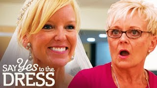 Breast Cancer Survivor Disagrees With Mum! | Say Yes To The Dress Atlanta
