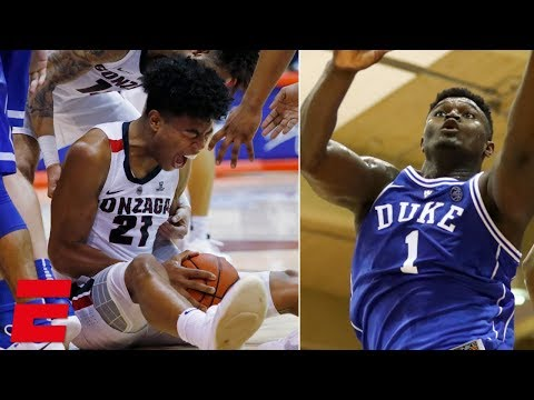 Gonzaga fends off Zion, Duke in thrilling Maui Invitational finish | College Basketball Highlights