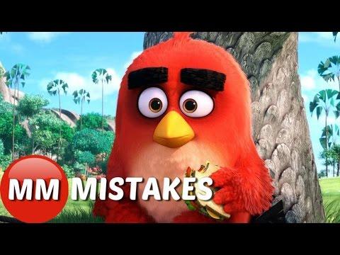 Angry Birds Movie - MOVIE MISTAKES Trailer    Angry Birds