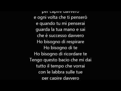 Alex Baroni – Vorrei (Testo)