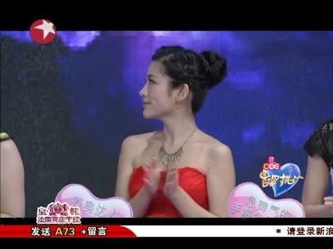 百里挑一Most Popular Dating Show in Shanghai China:袁超深情弹奏演唱找真爱play piano/sing love song 04112014