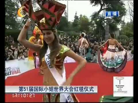 Desfiles de Trajes Típicos en Miss International 2011