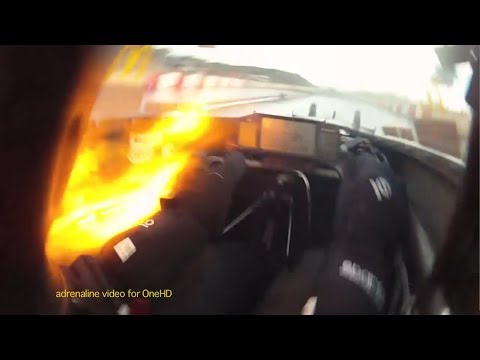 Top Fuel Dragster Helmet Cam - Phil Read