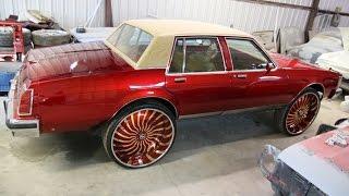 WhipAddict: Kandy Red Oldsmobile Delta 88 on 30\