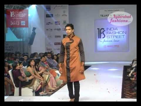 India Fashion Street Fashion Tour 2012, Designers Tejas Hindocha & Harish Hindocha collections