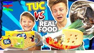 TUC TUC TUC vs REAL FOOD 😁 KRASS TipTapTube (REAL FOOD SPEZIAL)
