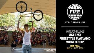 FWS EDMONTON 2018: UCI BMX Freestyle Flatland World Cup Semi Final