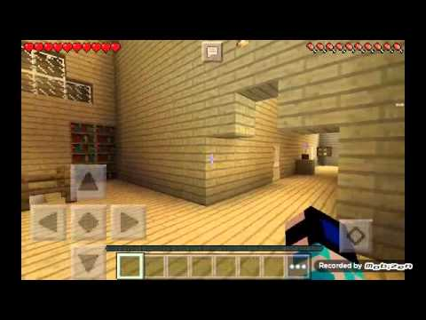 Undertale On Minecraft Pe Toriels House Youtube