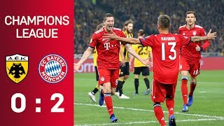 AEK Athens vs. FC Bayern München 0:2 | Highlights | Champions League - Matchday 3