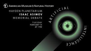 2018 Isaac Asimov Memorial Debate: Artificial Intelligence