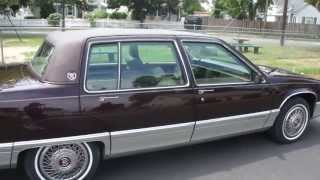 ~SOLD~1991 Cadillac Fleetwood For Sale~4.9L~Beautiful Condition~Low Miles
