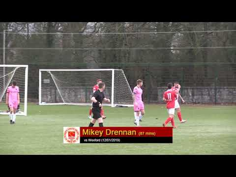 Goal: Mikey Drennan (vs Wexford 12/01/2019)