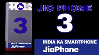 100% JIO PHONE 3 UNBOXING TRAILER video    book buy jio phone 3    Launch date price - specification