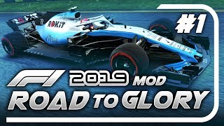 F1 Road to Glory 2019 - Part 1: OUR JOURNEY WITH WILLIAMS BEGINS!