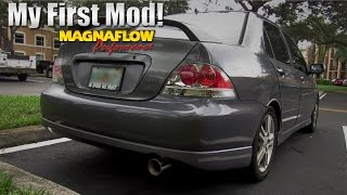 Magnaflow Catback Exhaust   2006 Mitsubishi Lancer Ralliart