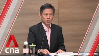 "Singapore's economy hit hard by COVID-19 measures, needs to ""chart new direction"": Chan Chun Sing"