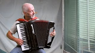 French music - Accordion Valse musette in Yann Tiersen style - Jo Brunenberg - accordeon acordeon