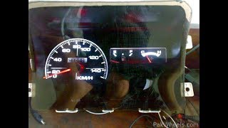 how to modified to dashboard meter  of your Suzuki mehran  YouTube