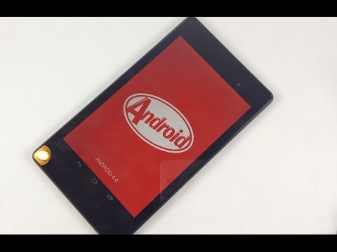 Nexus 7 (2013) - Official Android 4.4 KitKat : Review