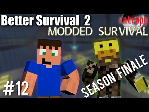 Tornados on the Moon - Better Survival 2 Season Finale - Modded Surviva Entropy Mod Pack