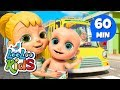 Lagu The Wheels On The Bus -  Great Songs for Children  LooLoo Kids