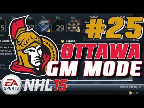 NHL 15: GM Mode Commentary - Ottawa ep. 25