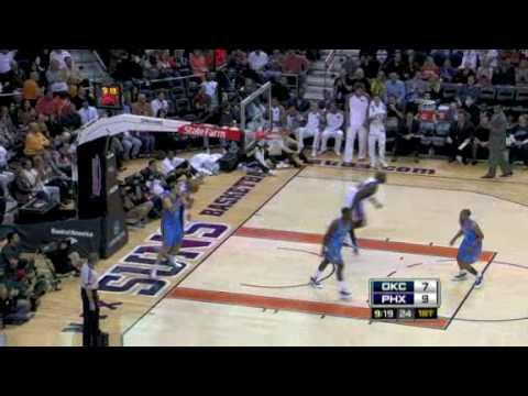 Oklahoma City Thunder vs. Phoenix Suns: 1st Half  20/02/2009