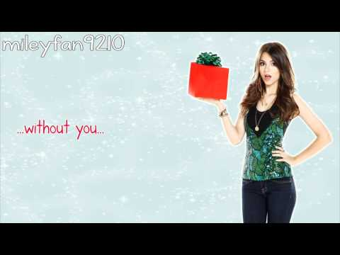 Victorious Cast. Ft. Victoria Justice - It's Not Christmas Without You ( Lyrics) video