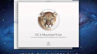 How To install OS X Mountain Lion 10.8 Developer Preview 1 on Mac