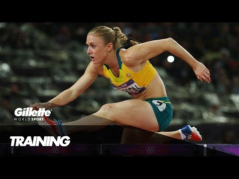 Overcoming Injury - Sally Pearson Prepares for Rio 2016 | Gillette World Sport