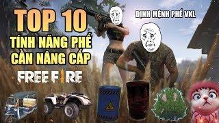 Free Fire | TOP 10 tính năng PHẾ nhất trong Garena Free Fire | Rikaki Gaming