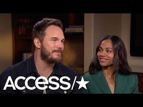 'Avengers: Infinity War': Chris Pratt & Zoe Saldana On The 'Surreal Moments' Shooting With The Cast