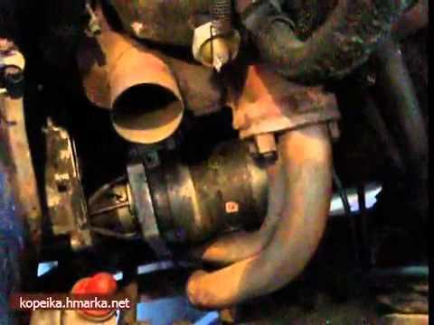 Видео как снять стартер ВАЗ 2106