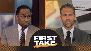 Stephen A. disagrees with Paul George's comment that the NBA needs super teams | First Take | ESPN