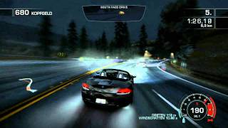 NFS - Hot Pursuit GTX 470 Gameplay