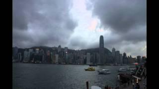 Hong Kong Sunset Timelapse