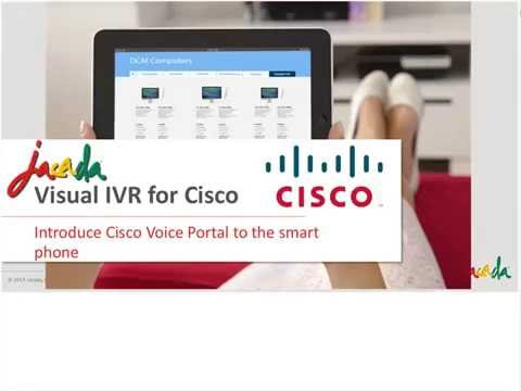 Visualize your Cisco IVR,  Delight your Mobile Customers