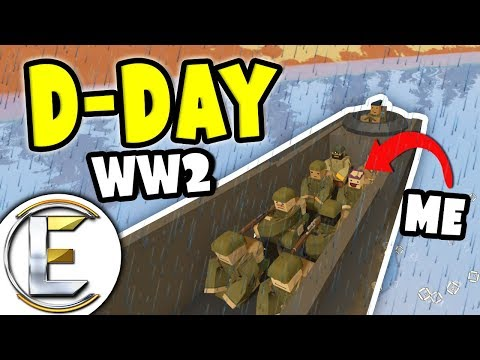 D-Day | Unturned WW2 roleplay (World War II RP Server) thumbnail