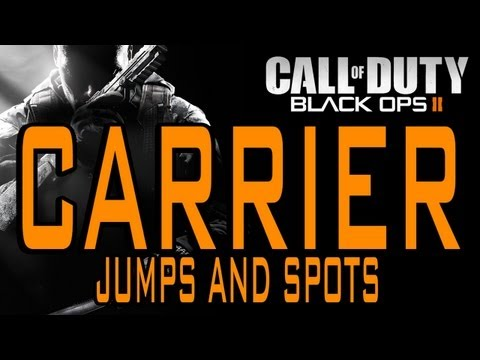 BO2 Jumps and Spots - Carrier (Black Ops 2)