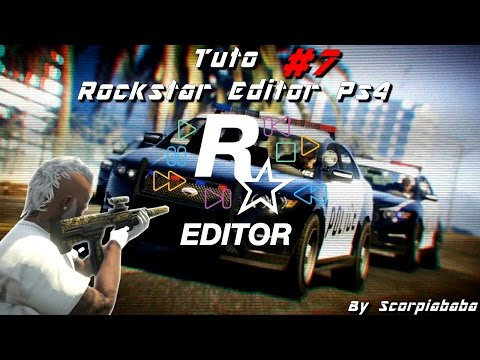 - Tuto special   Rockstar Editor ps4 ( éditeur vidéo )   Gta Online -