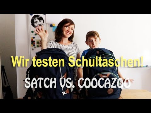 Satch Pack oder Coocazoo? Wir testen Schulranzen. Welcher Schulrucksack ist besser?